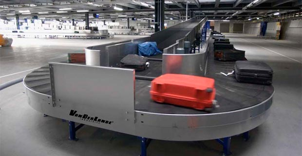 Airport Baggage Handling Scan : Airports enterprise to launch a million br baggage